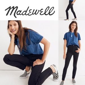 """Madewell 10"""" High-Rise Skinny Jean Stretch Edition"""